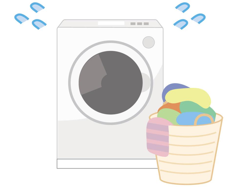 洗濯ものが多すぎて困っているドラム式洗濯機