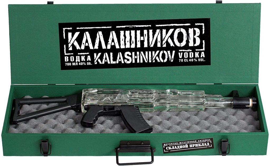 ガンケースに入ったカラシニコフ