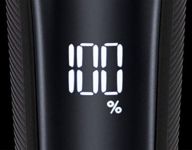 20段階電池残量表示ラムダッシュ