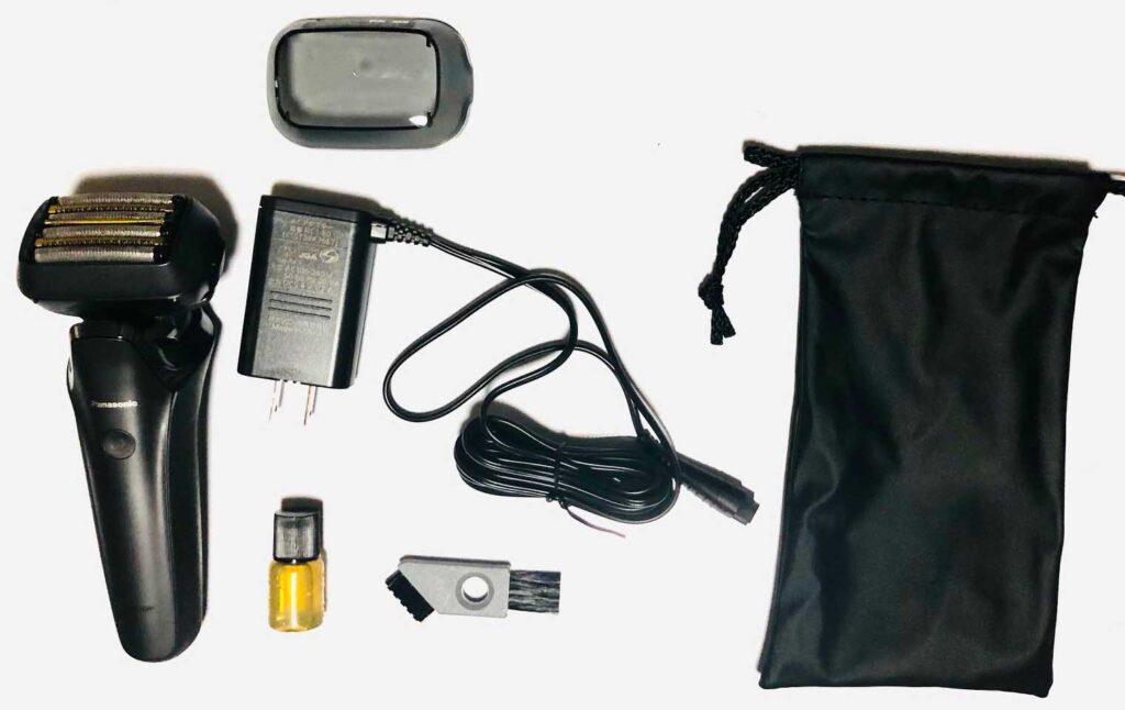 ラムダッシュES-LS5Aの全付属品